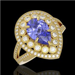 2 ctw VS/SI Cushion Diamond Stud Earrings 10K Rose Gold
