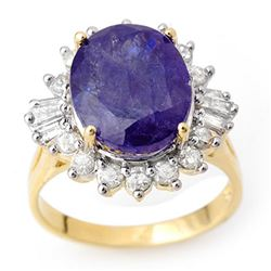 2.25 ctw Ruby & Diamond Ring 14K White Gold