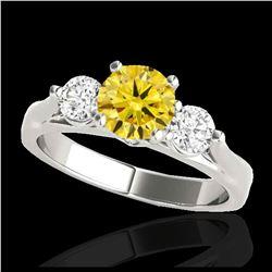 18.66 ctw Peridot & Diamond Bracelet 14K Yellow Gold