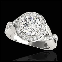 1.81 ctw Fancy Black Diamond Art Deco 3 Stone Ring 18K Yellow Gold