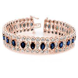 5.2 ctw Tanzanite & Diamond Earrings 14K Yellow Gold