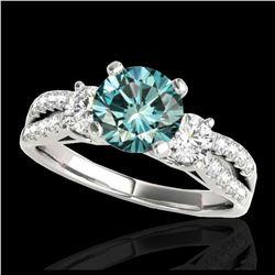 16.22 ctw Aquamarine & Diamond Earrings 14K Rose Gold