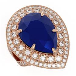 2.61 ctw VS/SI Diamond Solitaire Art Deco Stud Earrings 18K Yellow Gold