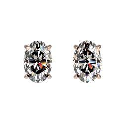 1.52 ctw Intense Blue Diamond Ring 10K White Gold