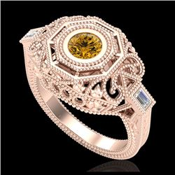 2.26 ctw VS/SI Diamond Art Deco Ring Band 18K White Gold