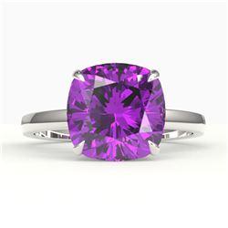 2.50 ctw Morganite With Black & Diamond Ring 14K Rose Gold