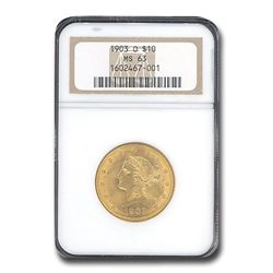 1903-O $10 Liberty Gold Eagle MS-63 NGC