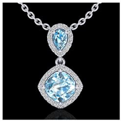 0.75 ctw H-SI/I Diamond Solitaire Necklace 10K Yellow Gold