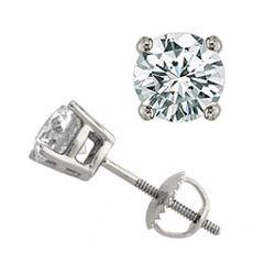 1.50 ctw VS/SI Diamond Ring Martini 14K Rose Gold