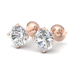 7.11 ctw Blue Sapphire & Diamond Bracelet 14K White Gold