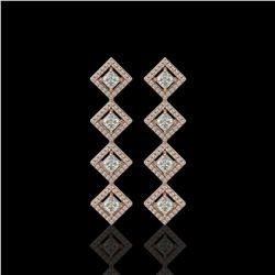 37.23 ctw Tourmaline & Diamond Necklace 14K White Gold