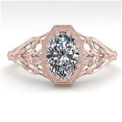 2.54 ctw VS/SI Diamond 2pc Wedding Set Halo 14K Yellow Gold