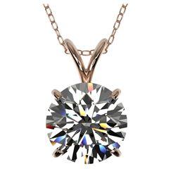 5.60 ctw Tanzanite & Diamond Pendant 18K White Gold