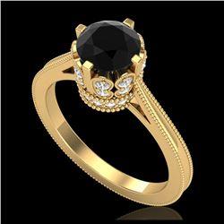 1.50 ctw H-SI/I Diamond Ring 10K Yellow Gold