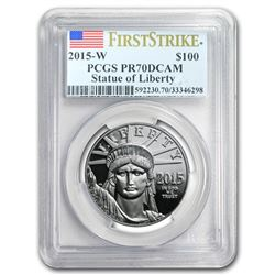 2015-W 1 oz Proof Platinum American Eagle PR-70 PCGS (FS)