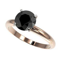 0.85 ctw VS/SI Diamond Art Deco 3 Stone Ring 14K Yellow Gold