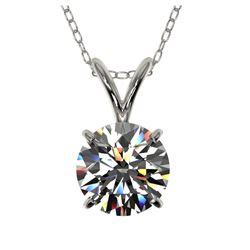 11.18 ctw Citrine & Diamond Ring 14K White Gold