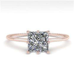 2.28 ctw VS/SI Diamond 2pc Wedding Set Halo 14K Rose Gold