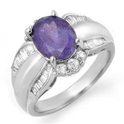 1.50 ctw Black Diamond Ring 18K White Gold