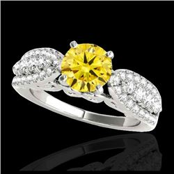 2.5 ctw H-SI/I Diamond Solitaire Ring 10K White Gold