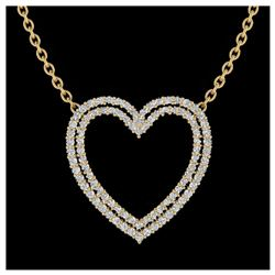 1.70 ctw VS Black Diamond Solitaire Ring 10K White Gold