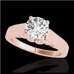 2.61 ctw Fancy Black Diamond Art Deco Stud Earrings 18K Rose Gold
