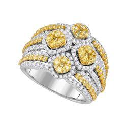 14kt Yellow Gold Round Diamond Wedding Band 1/6 Cttw