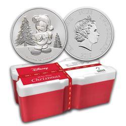 2019 250-Coin Niue 1 oz Silver $2 Mickey Christmas Monster Box