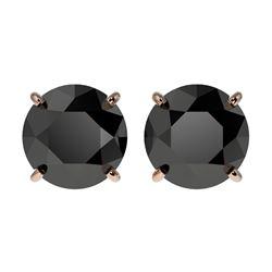 0.85 ctw VS/SI Diamond Bypass Solitaire Ring 14K White & Rose Gold