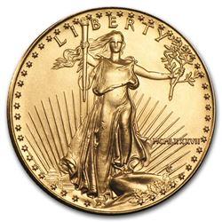 1987 1/2 oz Gold American Eagle BU (MCMLXXXVII)