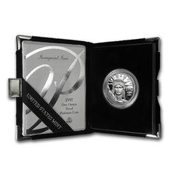 1997-W 1 oz Proof Platinum American Eagle (w/Box & COA)