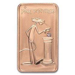2018 Australia 1 oz Pink Gold Pink Panther Diamond Ingot
