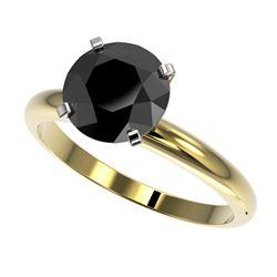 1.08 ctw Sky Blue Topaz & VS/SI Diamond Necklace Halo 18K Yellow Gold