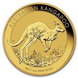 2017 Australia 1 oz Gold Kangaroo BU