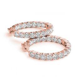 7.0 ctw Ruby Bracelet 14K White Gold
