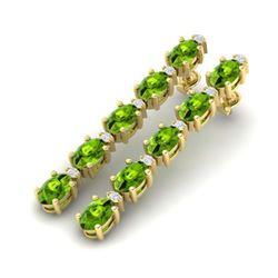 10 ctw Amethyst & VS/SI Diamond Ring 14K Rose Gold