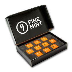100 gram Silver Bar - 9Fine Mint (10 pc. Multi-Pak)