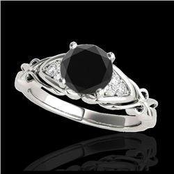 0.53 ctw H-SI/I Diamond Ring 10K White Gold