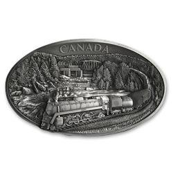 2019 Canada 1 kilo Silver $250 100th Anniv of CN (UHR)