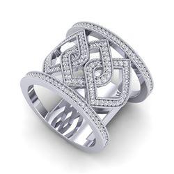 4 ctw Emerald & Halo VS/SI Diamond Earrings 18K White Gold