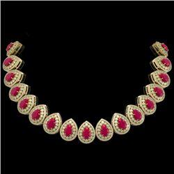 9.74 ctw Sapphire & Diamond Earrings 14K White Gold