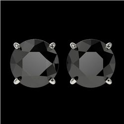1.25 ctw H-SI/I Diamond Solitaire Halo Ring 10K White Gold