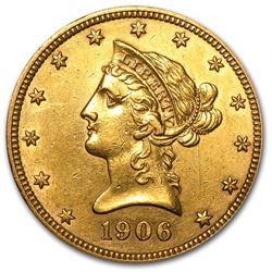 1906-O $10 Liberty Gold Eagle XF