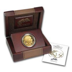 2008-W 1 oz Proof Gold Buffalo (w/Box & COA)