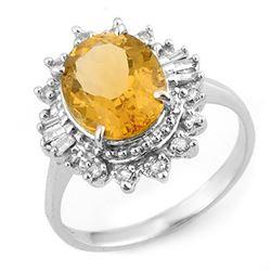 0.89 ctw VS/SI Diamond 3 Stone 2pc Wedding Set 14K White Gold