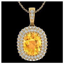 1.13 ctw VS/SI Diamond Solitaire Art Deco Stud Necklace 18K White Gold