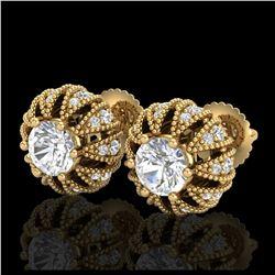 29.89 ctw Sky Topaz & Diamond Bracelet 14K Yellow Gold