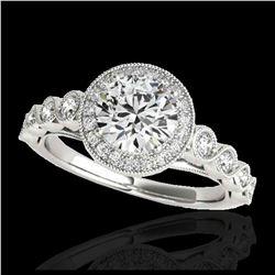 30.06 ctw Sapphire & Diamond Halo Bracelet 10K Rose Gold