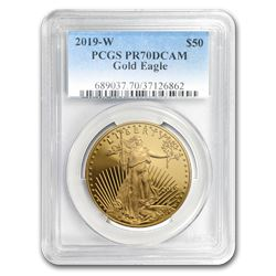 2019-W 1 oz Proof Gold American Eagle PR-70 PCGS