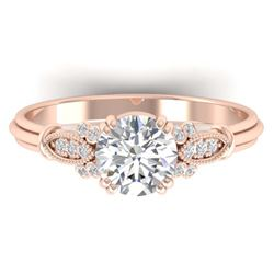 2.54 ctw VS/SI Diamond Bypass 2pc Wedding Set 14K Rose Gold